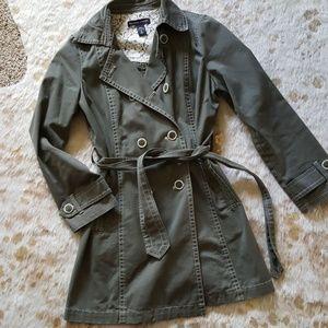 NY and Company double breasted coat